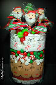 christmas candy jar edible centerpiece could also use smaller less