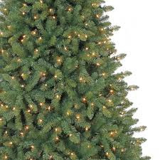 7 5 ft pre lit green hartford pine artificial tree