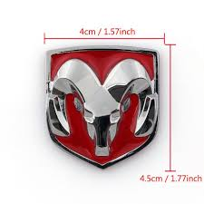 Dodge Ram Decals - amazon com areyourshop red head grill tailgate emblem badge