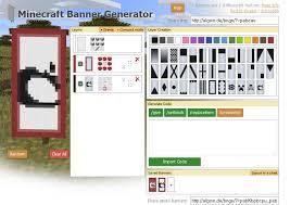 banner design generator online minecraft banner generator tool 1 8 minecraft mods