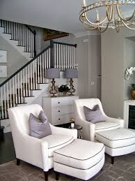 Before  After Chic Family Room Heather Scott Home  Design - Family room chairs