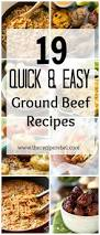 Quick Easy Comfort Food Recipes 19 Quick And Easy Ground Beef Recipes
