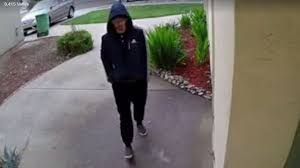 package thief caught on camera stealing from newark home cbs san