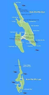 phi phi island map been there pinterest phi phi island