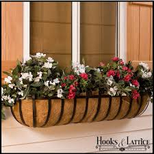 trough planters iron window planters window planters with coco liner