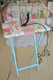 An Ironing Board Table Its Lightweight And I Can Lay My Work On - Ironing table designs
