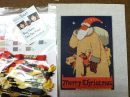 christmas needlepoint vintage christmas needlepoint kit needlepoint kits and canvas