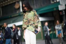 how the military has influenced fashion