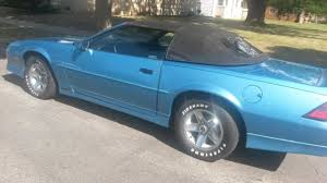 1989 camaro rs for sale chevrolet camaro convertible 19890000 blue for sale