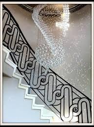 custom iron stair railing modern staircase dallas by d