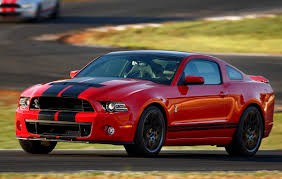 Black Mustang With Red Stripes Race Red 2013 Ford Mustang Shelby Gt 500 Coupe Mustangattitude