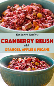 my family s cranberry relish recipe recipe from fatfree vegan