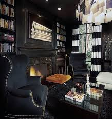 Masculine Home Decor 90 Home Library Ideas For Men Private Reading Room Designs
