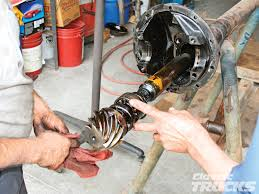 chevs of the 40 u0027s 3 55 1 ring and pinion swap rod network