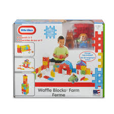 Fisher Price Barn Bounce House Waffle Blocks Farm Little Tikes