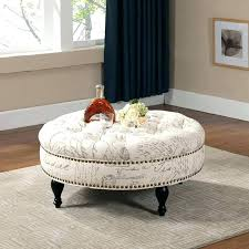 Tufted Ottoman Coffee Table Large Ottoman Coffee Table Large Glass Coffee Table