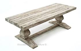 restoration hardwood table restoration hardware inspired