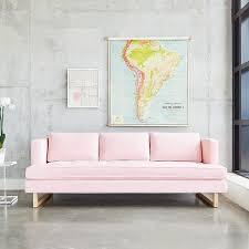 Pink Sofa Bed by Best 25 Pink Sofa Ideas Only On Pinterest Blush Grey Copper