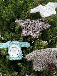 tiny sweater ornament pattern knitting patterns and