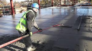 industrial concrete flooring concrete slab contactors