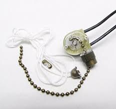 Ceiling Fan Light Pull Chain Switch Zing Ear Ze 109 Pull Chain Switch Light Lamp Ceiling Fan Canopy