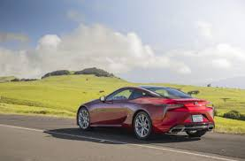 lexus sc500 msrp the 92 000 lexus lc 500 flagship coupe is more ballerina than