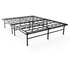 premier marita metal platform bed frame queen with bonus base