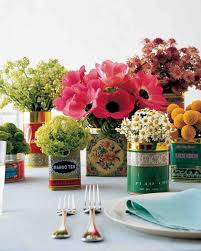 Tin Buckets For Centerpieces by Wedding Centerpieces That Double As Favors Martha Stewart Weddings