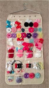 baby hair bows the pursuit of happiness easy baby hair bow hanging closet storage