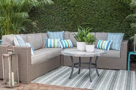 lowes patio furniture outdoor patio furniture allweather brown pe