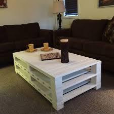 diy livingroom decor coffee table stunning diy pallet coffee table design ideas white