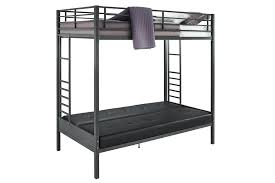 Black Futon Bunk Bed Dhp Furniture Jasper Premium Futon Bunk Bed With Black
