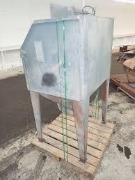 Used Blast Cabinet Universal Abrasive Blast Ca 309788 For Sale Used