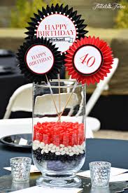 Birthday Table Decorations by Let U0027s Party Tidbits U0026twine