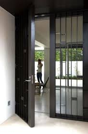 Exterior Steel Entry Doors With Glass 23 Metal Front Doors That Are Really Inspiring Shelterness