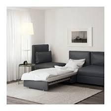 Ikea Sleeper Sofa With Chaise Vallentuna Sleeper Sectional 3 Seat Hillared Gray Ikea