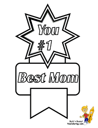 1 best mom award mothers day coloring pages tip junkie