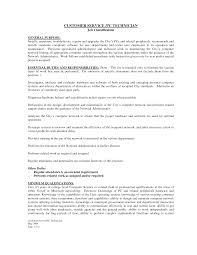 Mechanic Job Description Resume by Service Technician Job Description Business Plan Templates