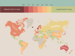 which state has the lowest cost of living the cost of living worldwide insider