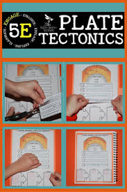 plate tectonics earth science interactive notebook covers the