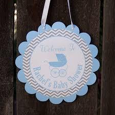 carriage baby shower door hanger baby boy shower decorations