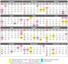 Gambar Kalender 2018 Lengkap Kalendar 2018 Jadual Cuti Dan Takwim Malaysia Paling Lengkap