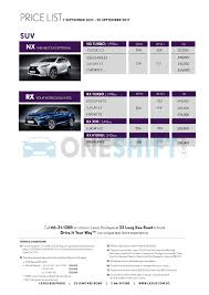 borneo motors lexus service centre lexus singapore printed car price list oneshift com
