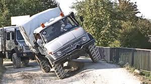 mercedes unimog truck mercedes unimog road test drive