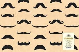 mustache wrapping paper cool wrapping paper mustache wrapping paper wrapping paper storage