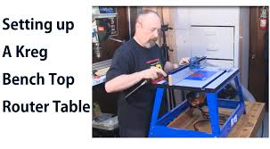 kreg prs2100 benchtop router table kreg bench top router table assembly woodworkweb youtube