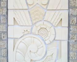 deco revival art u0026 tile works art deco tile hand made ceramic tile