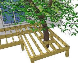 best 25 deck around trees ideas on pinterest tree deck bench