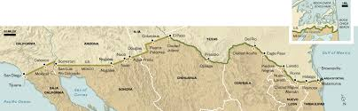 Mexico Wall Map Fence No Cureall For Americas Porous Border Us News Us And Mexico