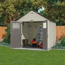 abris de jardin resine abri de jardin en résine suncast woodgrain 5 53 m extérieur chalet